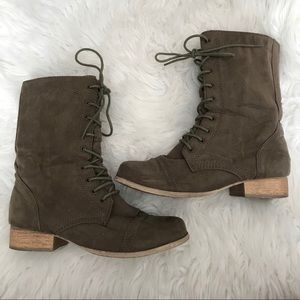 Forever 21 Combat Style Boots
